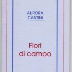copertina 1° libro di poesie FIORI DI CAMPO 1993 rieditato 2011