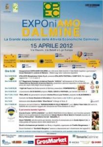Locandina EXPONIAMO DALMINE 15 aprile 2012