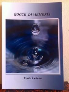 Kenia Cedeno Libro poesie Gocce di memoria