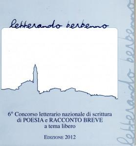 Locandina Letterando Berbenno 2012