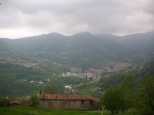 Sant'Antonio Abbandonato e la Valle Brembilla
