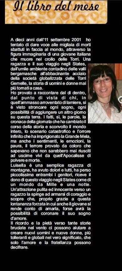 """Stella Magazine IL LIBRO DEL MESE, """"Come briciole sparse sul mondo"""""""
