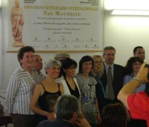 x edizione concorso Letterario San Maurelio 2012, i premiati