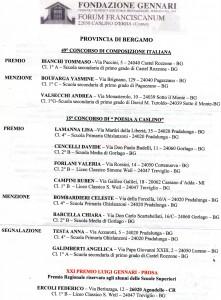 Fondazione Gennari, concorso di poesia e prosa: gli alunni VINCITORI PROVINCIA DI BERGAMO per il bicentenario della nascita di Giuseppe Verdi