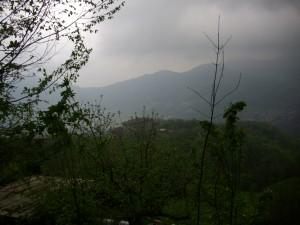 Silenzioso pomeriggio da Sant' Antonio Abbandonato sulla Valle Brembana