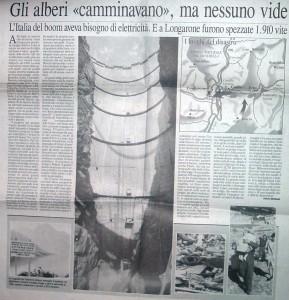 L'Eco di Bergamo e il Vajont