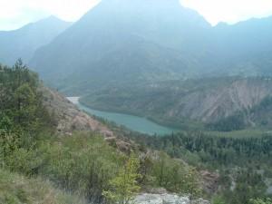 lago Vajont quel che resta