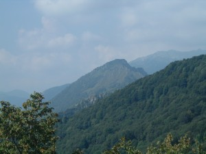 Le montagne della Val Serina