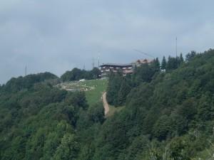 l rifugio del Monte Poieto e il parco