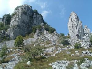 La Cornagera e i due pilastri Longo e Garlini