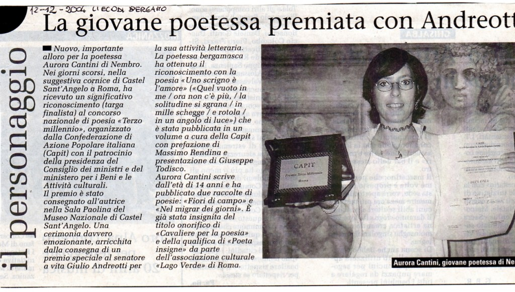 Con Andreotti a Castel Sant'Angelo 31-10-2004