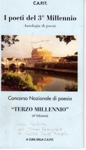 La copertina dell'antologia poetica della CAPIT Roma
