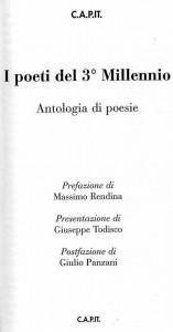 L'antologia poetica della CAPIT Roma