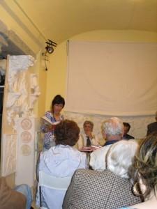 Rassegna Letture bergamasche con Sergio Pagliaroli: La lettura delle poesie, foto di Pierantonio Volpini