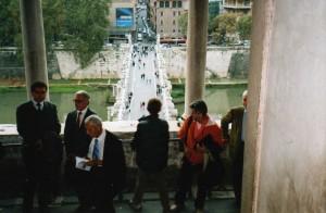 L'ingresso alla Sala Paolina in Castel Sant'Angelo