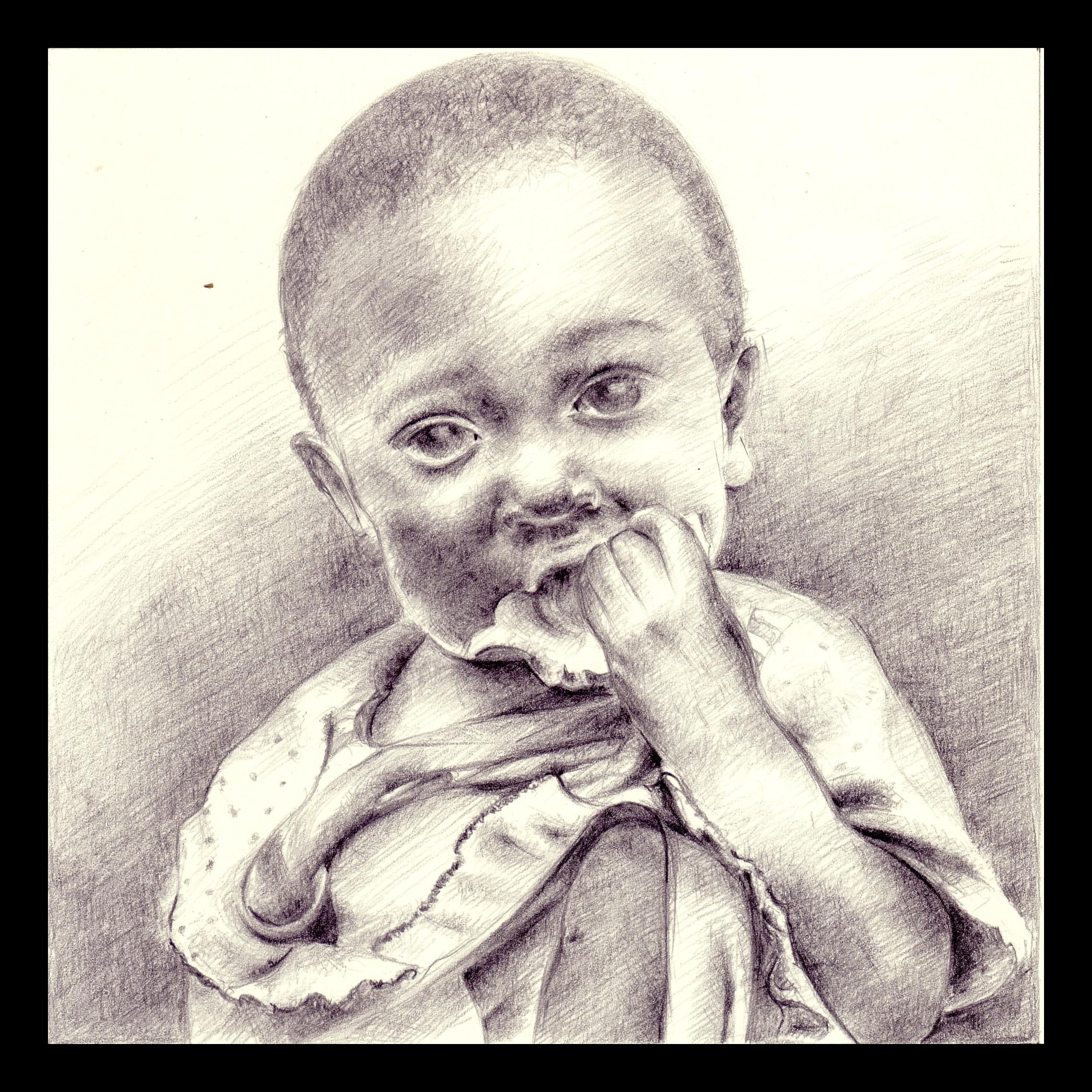 Bambino di Luigi Oldani per AVSI