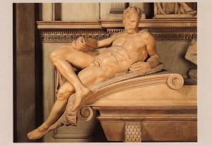 Il Crepuscolo di Michelangelo, Cappelle Medicee Firenze