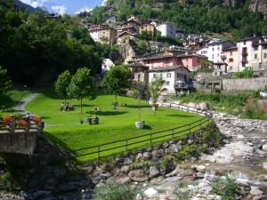 Silenzio dell'anima nei giardini di Branzi, Alta Valle Brembana