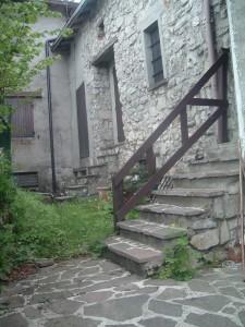 Un angolo del paesino di Ganda di Aviatico, Bergamo
