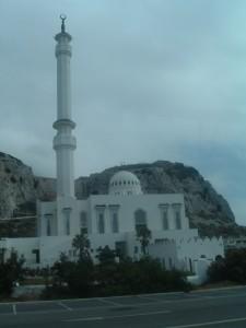 La moschea verso Punta Europa, Gibilterra