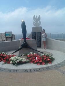 L'omaggio ai Caduti a Punta Europa (Gibilterra)