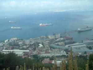 Vista sul porto (Gibilterra)