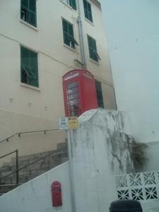La celebre cabina telefonica rossa, Gibilterra