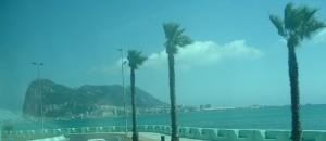 La Rocca di Gibilterra sotto la sferza del vento