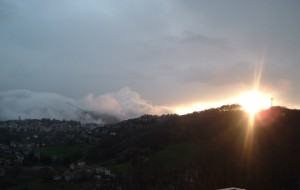 Luce dopo la pioggia a Selvino