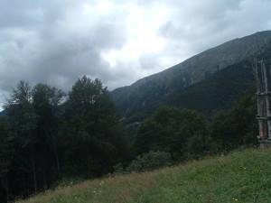 Il panorama La Cattedrale Vegetale del Monte Arera