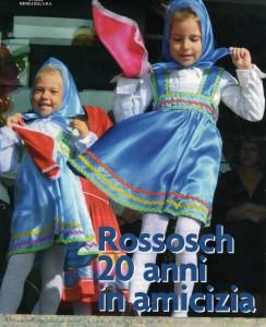 """Copertina de """"L'Alpino"""": I bambini dell'asilo """"Sorriso"""" a Rossosch"""