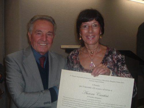 """V Premio Biennale Nazionale di narrativa """"Lucia Iannucci Mazzoleni"""" e le parole di acqua e di terra di Aurora Cantini"""