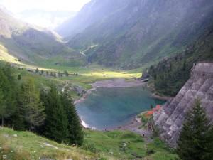 6 Ciò che resta dell'invaso a monte della diga del Gleno 6
