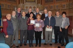 """I premiati e gli organizzatori del X Concorso di poesia """"Enrico Brianza"""""""