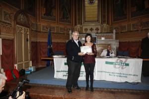"""Aurora Cantini con Luigi Cervi al X Concorso di poesia """"Enrico Brianza"""""""