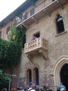 Balcone della casa di Giulietta, Verona