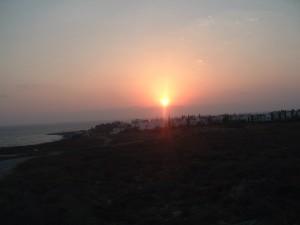 Tramonto sull'Egeo