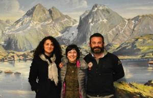 Cai Zogno: Marisa Sonzogni, Ettore Ruggeri e Aurora Cantini