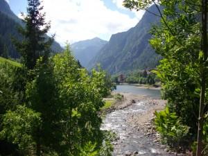 Il fiume Brembo a Carona, Alta Valle Brembana