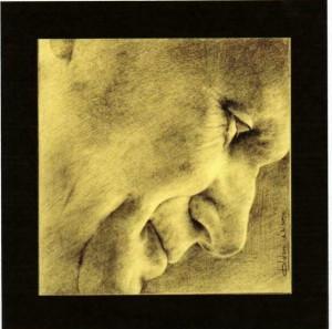Karol, scultura di Luigi Oldani