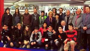 Gruppo-premiati Voci Verdi 2014, letteratura