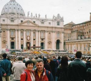 La Messa di Pasqua di Papa Giovanni Paolo II dell'11 Aprile 2004
