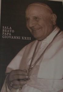 Sala Papa Giovanni XXIII nel Palazzo dell'Arciconfraternita dei Bergamaschi a Roma