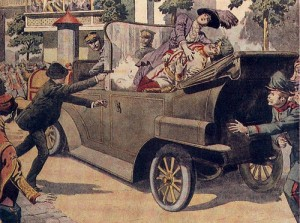 28 giugno 1914, Attentato di Sarajevo