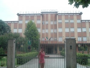 L'ex Colonia Marina Cardinal Schuster a Cesenatico oggi