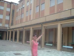 L'ex Colonia Marina Cardinal Schuster a Cesenatico oggi, i piani delle camerate