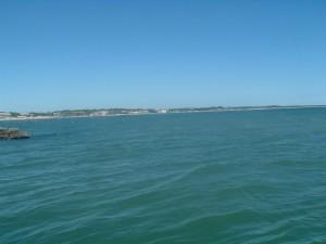 Il litorale di Ponente a Cesenatico con le Colonie Marine