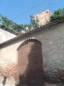 La salita alla Rocca Malatestiana
