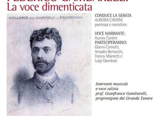 Il Tenore Monsignor Federico Gambarelli, ad Albino l'avventurosa vita del celebre cantante lirico