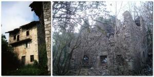 La casa di Modesto Carrara a Predale, come era e come è oggi